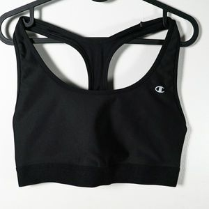 Xl black champion sports bra